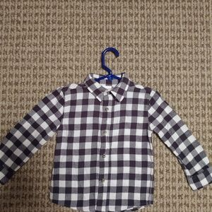 3T Flannel shirt